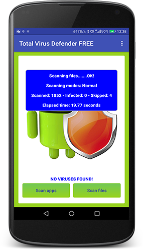 Total Antivirus Defender for Android - screenshot